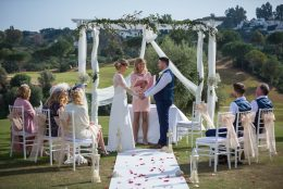Micro wedding in Spain