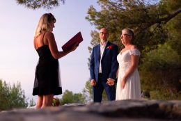 Vow renewal in Spain