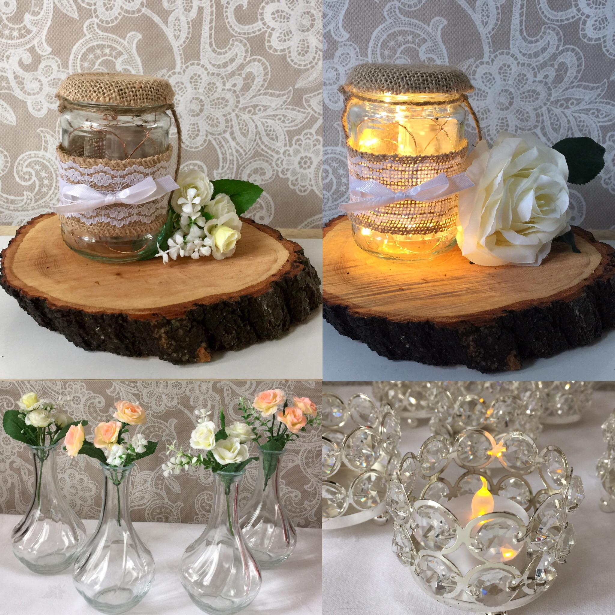 Table Vases/ T-light Holders