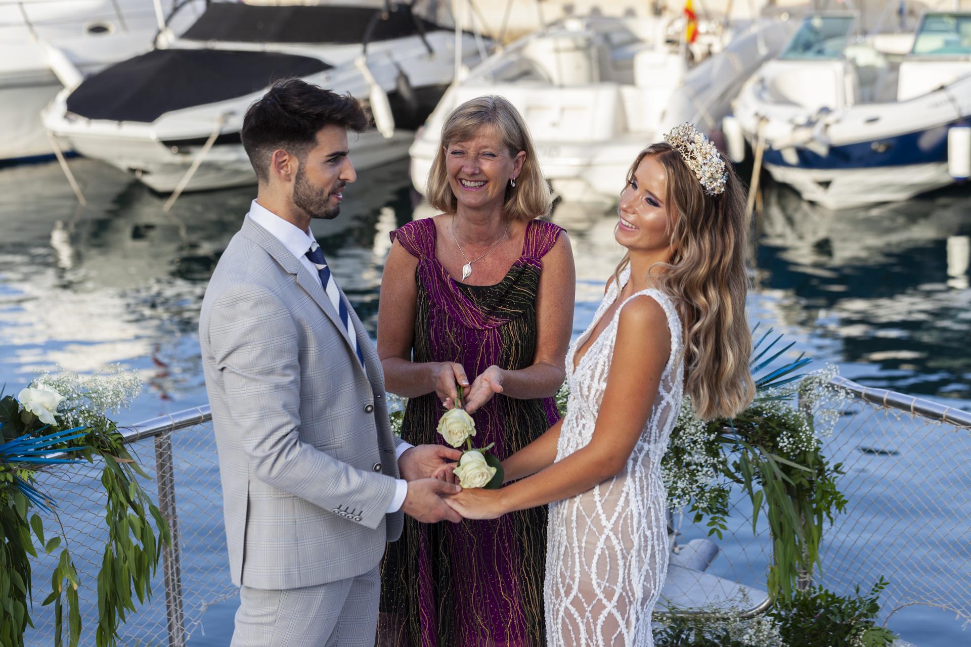 Toni Bonet Photographer boat elopement in Spain