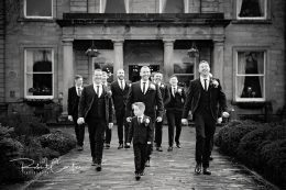 Robert Carter Barnsley Wedding Photography Groom and groomsmen